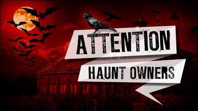 Attention Oregon Haunt Owners