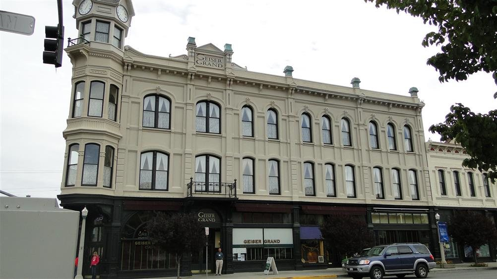 Geiser Grand Hotel Baker City Oregon Real Haunted Place